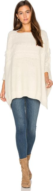Fine Collection , Dolly Fringe Sweater