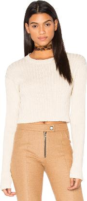 Frankie , Rib Cropped Sweater