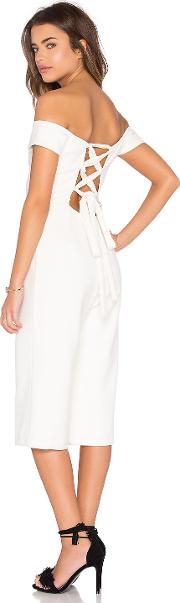 Lucca Couture , Ballerina Off Shoulder Cropped Jumpsuit