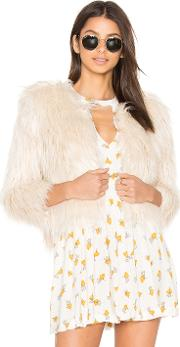 Mother , The Boxy Faux Fur Jacket