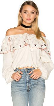 Piper , Tibet Off Shoulder Top