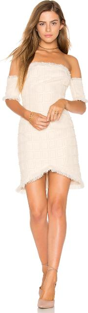 Endless Rose , Frayed Trim Dress