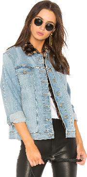 Joes Jeans , The Boyfriend Jacket With Faux Fur Collar