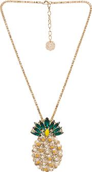 Anton Heunis , Pineapple Pendant Necklace