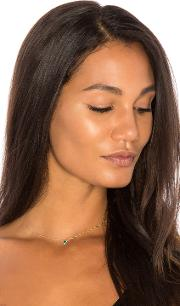 Sachi , X Revolve Emerald Pear Necklace