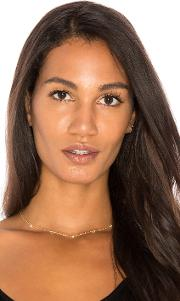 Sachi , X Revolve Trio Diamond Necklace