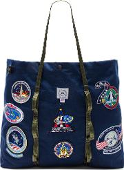 Epperson Mountaineering , Vintage Nasa Patch Large Tote