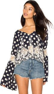 Farm , Bell Sleeve Top