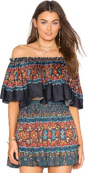 Farm , Libali Off Shoulder Top