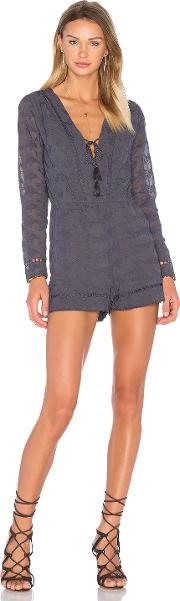 House Of Harlow 1960 , X Revolve Mila Long Sleeve Romper