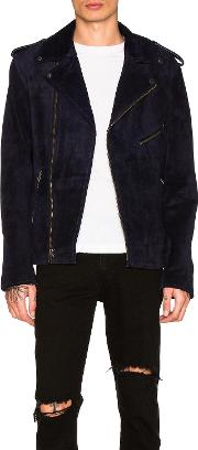 Understated Leather , Easy Rider Suede Jacket