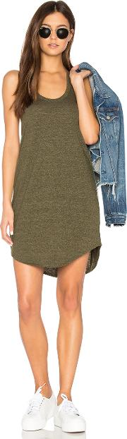 Chaser , T Back Shirttail Mini Dress