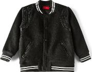 Haus Of Jr , Teddy Varsity Jacket