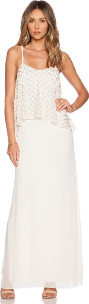 Needle & Thread , Tiered Geo Maxi Dress