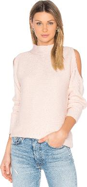 1 State , Cold Shoulder Sweater