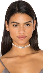 Fallon , Monarch Mini Velvet Choker