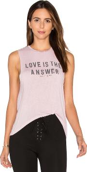 Spiritual Gangster , Love Is The Answer Tank