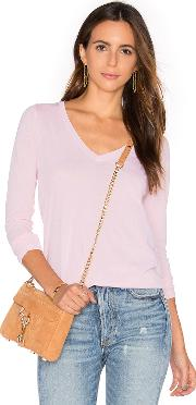 Splendid , Vintage Whisper Long Sleeve V Neck Tee