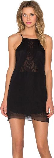 Michelle Mason , Chiffon Lace Slip Dress