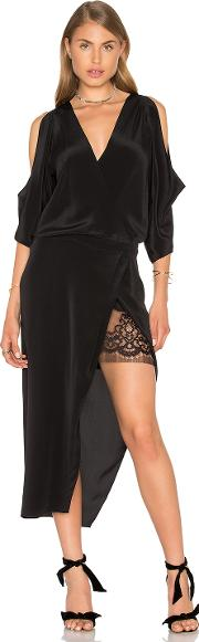 Michelle Mason , Open Shoulder Lace Dress