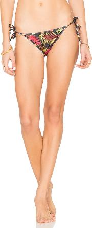 Salinas , Breeze Contrast Side Tie Bikini Bottom