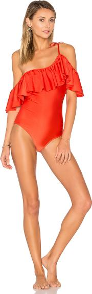 Adriana Degreas , One Shoulder Swimsuit