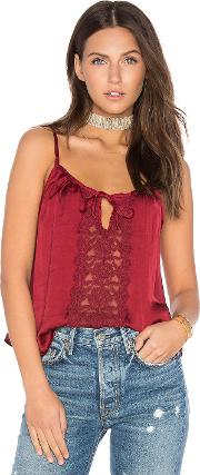Band Of Gypsies , Lace Insert Swing Cami