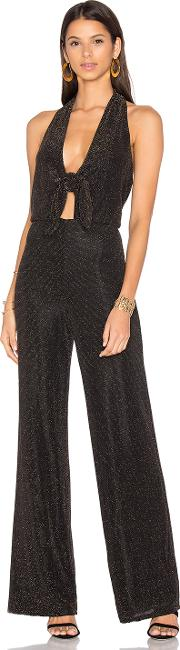 House Of Harlow 1960 , X Revolve Coco Jumpsuit Black & Gold