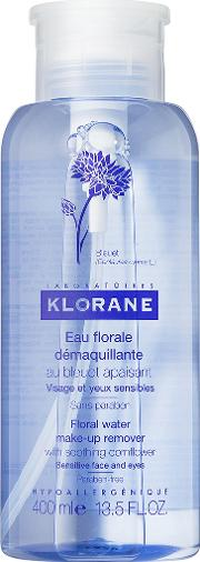 Klorane , Floral Water Make Up Remover With Soothing Cornflower