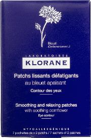 Klorane , Smoothing And Relaxing Patches With Soothing Cornflower