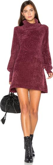Free People , New Moon Chenille Tunic Sweater
