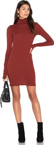 Enza Costa , Cashmere Long Sleeve Turtleneck Dress