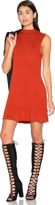 Rvca , Banked Sweater Dress