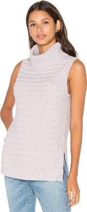 Leo & Sage , Sleeveless Turtleneck Sweater