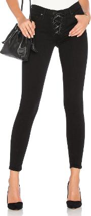 Black Orchid , Heidi Lace Up Skinny