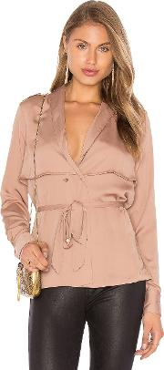 Lacademie , The Trench Blouse