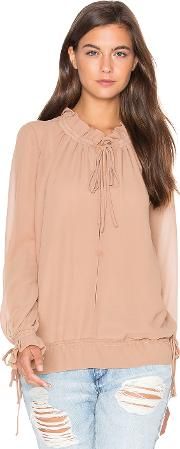 Lucy Paris , Tie Up Blouson Top