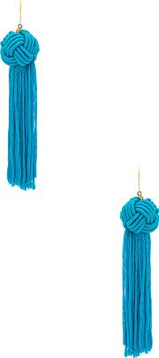 Vanessa Mooney , The Astrid Knotted Tassel Earring