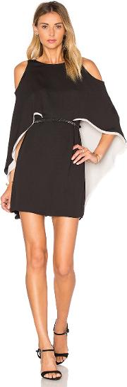 Halston Heritage , Cape Sleeve Flowy Dress