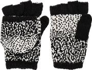 Plush , Ombre Dot Texting Mittens