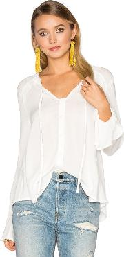 Band Of Gypsies , Ruffle Front Peasant Blouse