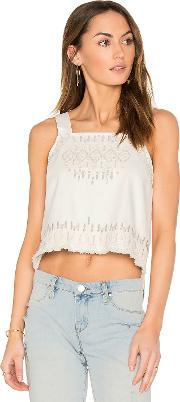 Blanknyc , Embroidered Crop Top