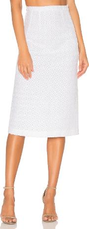 By Johnny , Marthe Lace Pencil Skirt