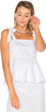 By Johnny , Tie Strap Frill Camisole