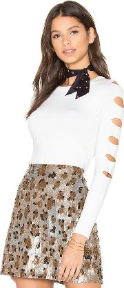 Central Park West , Palm Springs Cut Out Sweater