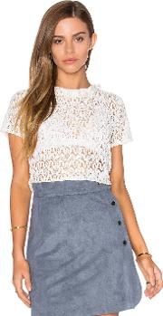 Lucy Paris , Lace Frilling Top