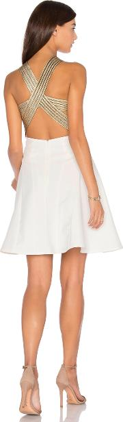 Lumier , Between The Lines Fit And Flare Dress