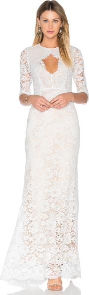 Lurelly , Floral Lace Gown