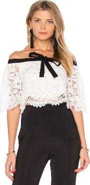 Lurelly , Haltered Lace Crop Top