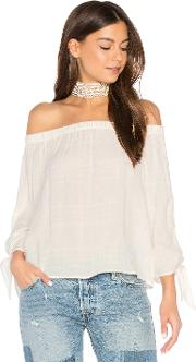 Maven West , Off Shoulder Tie Top